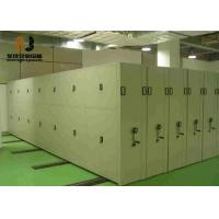 Wholesale Anti-tilt mechanism Mobile Archive Shelving Systems For Library / School from china suppliers