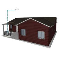Quality Movable Modular Flat House Prefab Granny Unit Holiday Villa Modern for sale
