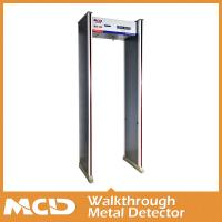 Wholesale 6 Zones 3d Metal Detector Gate Adjustable Sensitivity For Metro Station from china suppliers