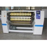 Wholesale Laminate Roll Cutter Slitter Foil Tape Roll Slitting Machine Of High Efficiency from china suppliers