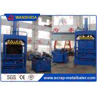Wholesale Vertical Waste Paper Baler PP Bags Cardboard PET Bottles Baling Press with Conveyor from china suppliers