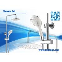 Wholesale Traditional Stainless Steel Chromed Exposed Shower Columns With On Off Switch from china suppliers
