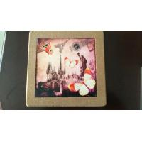Wholesale 25*25cm Square Cork Trivet, Ceramic Trivet with Cork Based, Customized Size from china suppliers