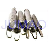 Quality Sintered Basket Filter Element Corrosion Resistance With 1-300μM Filter Rating for sale