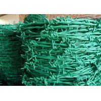 Wholesale Normal Twist / Reverse Twist Barbed Wire Fence 450mm - 960mm Diameter For Prisons from china suppliers
