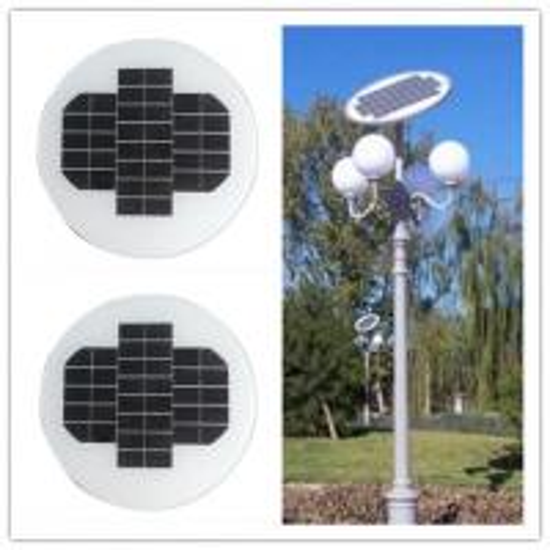 12 Volt 150w Circle Solar Panel Aluminum Alloy Frame For