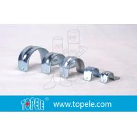 Wholesale Galvanized 1 Inch EMT Conduit Fittings , One Hole EMT Conduit Strap from china suppliers