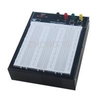 Wholesale Black Flameresistant Case Powered Breadboard with 2420 Point  White Board from china suppliers