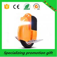 Red / Orange Auto Self Balancing One Wheel Electric Scooter CE / ROHS