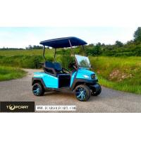 Buy cheap Road Legal 2 Seater Golf Buggy Utility Cart With 48 V Battery Power , Red Color from wholesalers