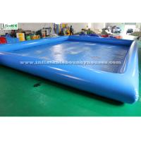 Wholesale Blue Seaworld Inflatable Swimming Pool Large Digital Printing For Family from china suppliers