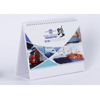 China Fancy Customized Daily Desk Calendar Wire - O Binding And Oil Varnishing on sale