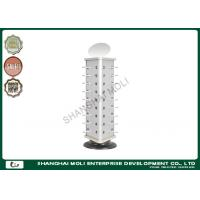 Wholesale Revolving counter small glasses display rack with mirror in shop supermarket from china suppliers