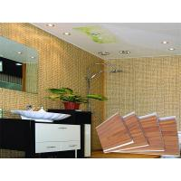 Wholesale Waterproof Wooden Stamping Plastic PVC Wall Panels Toliet CE SGS from china suppliers