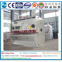 Wholesale Hydraulic Guillotine Shearing Machine , Hardware Steel Plate Cutting Machine from china suppliers