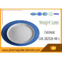 Wholesale CAS 282526-98-1 Pharmaceutical Raw Materials Cetilistat C25h39no3 for Fat Loss from china suppliers