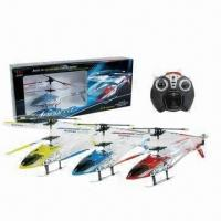 Quality 3.5-channel I/R Helicopters w/GYRO, Made of ABS, Nylon, Alloy Metal for sale