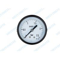 Wholesale 2.5 Inch General pressure gauge black steel case with screws bezel , brass internals from china suppliers