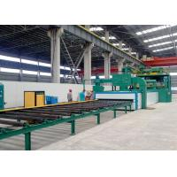 China Continuous Through Dustless Blasting Machine Pretreatment Line Anti - Erosion on sale