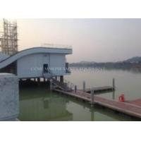 Quality plastic boat pontoon dock / plastic modular floating pontoon for sale