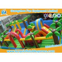 Wholesale Giant Jungle Large Inflatable Games , Inflatable Bouncer Jumper For Amusement Park from china suppliers