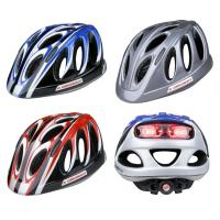 Wholesale Safest Mtn Bike LED Light Helmet White Protective 19 Areodynamic Vent Holes from china suppliers