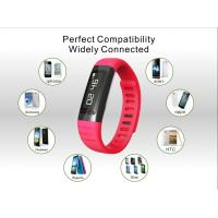 Wholesale Black / Red / Blue / Orange TPU Smart Wristband Bracelet 0.91 inch from china suppliers