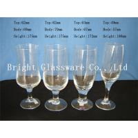 Wholesale Cheap romantic design glass champagne cup, wine goblet glass for wholesale from china suppliers