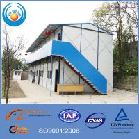 Quality Economical prefabricated steel frame house for sale