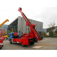 Wholesale Powerful Truck Mounted Drilling Rig Mechanical Driven For Bridge , Dam from china suppliers