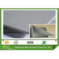 Wholesale A4 Sample Size Sheet / Roll Grey Chipboard Good Stiffness with Recycled Paper from china suppliers