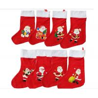 Wholesale 16inch Christmas Santa Stocking Plush Gift For Christmas Holiday Celebrate from china suppliers