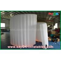 Quality 210D Oxford Fabric Inflatable White Spiral Wall For Photo Booth Tent 1 Year Warranty for sale