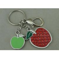 Wholesale Beauty 3D Logo Promotional Key Rings Personalised With Swarovski from china suppliers