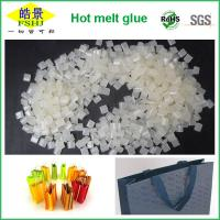 Wholesale EVA Type Hand Bag Sealing Hot Melt Glue , Packaging Hot Melt Adhesive Pellets from china suppliers