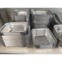 Quality Container prelubricated aluminium foil roll 8006 H24 food contact standard for sale