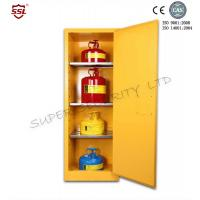 Wholesale Narrow Vertical Industrial Corrosive Chemical Storage Cabinet With Single Door from china suppliers