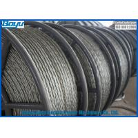 Wholesale Anti Twisting Wire Galvanized Steel Line Stringing Rope for Overhead Transmission Line 13mm 120kN from china suppliers