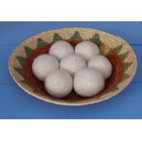 Wholesale Amazon buyers good feedback factory wool felt laundry ball 100% wool dryer ball from china suppliers