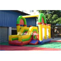 Wholesale Colorful Combo Bouncer Inflatable Bouncy Castle With Slide 7m * 4.6m * 4m from china suppliers