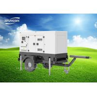 Wholesale 60HZ Portable Mobile Diesel Generator Silent Type For Industrial from china suppliers