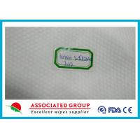 Wholesale Pearl Pattern Spunlace Nonwoven Wipes 10~220cm Width Soft Hand style from china suppliers