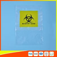 Wholesale Reclosable Clear Ziplock Lab Guard Specimen Bag With Three Layer from china suppliers