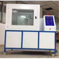 Wholesale ISO 8142 Flammability Testing Equipment Thermal Insulation Materials PLC Module Control Part from china suppliers