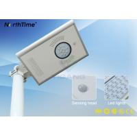 Wholesale Aluminum Alloy All in One Integrated Solar LED Street Light IP65 CE Approved from china suppliers