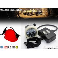 Wholesale GS5-B Semi - Corded Miners Helmet Light, 5.6AH Rechargeable Led Cap Lamp from china suppliers