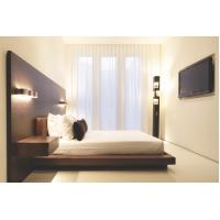 Buy cheap Hotel Furniture Wood panel cleats to wall Headboard with attached Upholstered from wholesalers