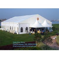 Wholesale Double PVC Coated Shelter Outdoor Event Tents with Aluminum Frame for Wedding , Party from china suppliers