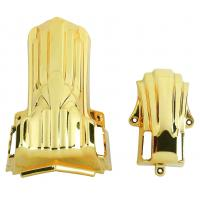 Good Decoration Funeral Accessories 11# G Steel Pipe Electronic Shining Gold