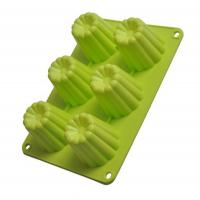 Wholesale 6 cups gear shaped silicone chocolate mold ,silicone ice cube mould from china suppliers